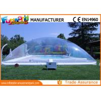 Cheap PVC Transparent Inflatable Pool Cover Tent Swimming Pool Cover Shelter wholesale
