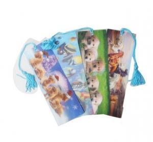 Cheap PLASTIC LENTICULAR flip lenticular bookmark printing animation 3d lenticular bookmarks wholesale wholesale