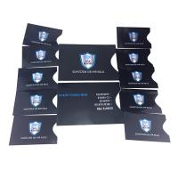 Cheap Package In Sets RFID Blocking Card Sleeve 10 X Credit Card Protector 2 X Passport Holder wholesale