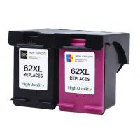 Cheap Recycled Refurbished Printer Ink Cartridges For HP 62 XL Multicolor Compatible wholesale