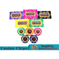 Cheap Embedded Feel Casino Poker Chip Set With Environmental Protection Materials wholesale