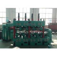 Cheap Carbon Steel Pipe Straightening And Cutting Machine 22 * 2 KW With 600 Mpa High Speed wholesale