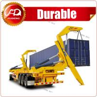 Cheap xcmg container sidelifter xcmg side crane side lifter trailer , container truck trailer with lift wholesale