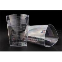 Cheap 1000cc FDA Registered Iso 13485 Triangular Container Transparent Three Sided Material wholesale