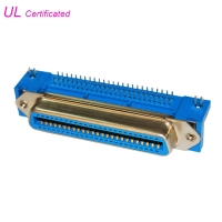 Cheap PBT Female 50 Pin Centronics Connector right angle PCB Champ Connector 2.16mm pitch wholesale