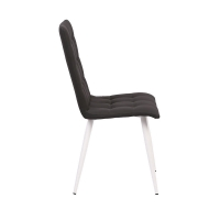 Cheap 55*44*49cm Ergonomic High Back Tufted Dining Chair wholesale