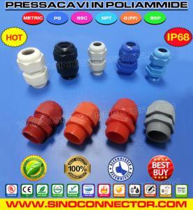 Cheap Pressacavi o Pressacavo IP68 in Poliammide (nylon / plastica) con filettatura Metrica e PG wholesale