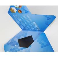 Cheap 7 inch TFT Flip Book Video for Advertising , video booklet with 2G memory wholesale