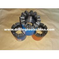 Rock Impregnated Diamond Core Drill Bit , 6mm Diamond Drill Bit For Core Barrels