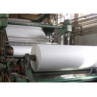 Cheap Carbon Steel A4 Paper Making Machine 900m / Min Speed For Waste Paper Recycling wholesale