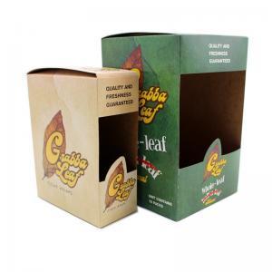 Cheap Grabba Leaf Kraft Paper Boxes For Tobacco Leaf wholesale