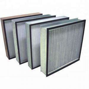 Cheap h13 hepa filters h14 class 10000 clean room heap filter wholesale