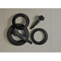 Cheap High Performance Spiral Bevel And Pinion Gear Anti - Oil Carburizing Heat Treatment wholesale