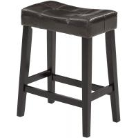 Cheap Optional Colour Padded Kitchen Stools , Padded Saddle Counter Stools Modern wholesale