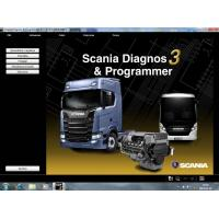 Quality Scania SDP3 v 2.35 Diagnostic & Programmer sofware+scania XCOM 2.30 no need usb for sale