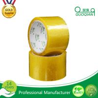 Cheap Carton Adhesive Transparent BOPP Packing Tape Customized 48mmx66mm Width wholesale