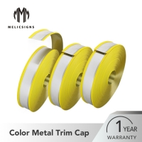Buy cheap Hand Making 80mm Yellow Steel Core Rubber Trim Cap for Outdoor Decoration from wholesalers