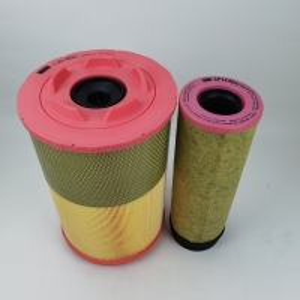 China 1631043500 Screw Air Compressor Round Air Filter Mann C258602 Air Filter on sale