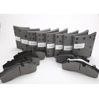 Cheap Organic Commercial Vehicle Brake Pads E11 Mark Under IATF16949 Quality System wholesale