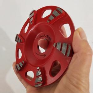 Cheap Diamond Metal Bond 4.5 Inch Concrete Grinding Wheel With Coarse Grit wholesale