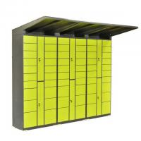Cheap 20 Doors 24 Hour Parcel Delivery Locker Easy Pick Up Smart Customized Deputy Cabinet wholesale