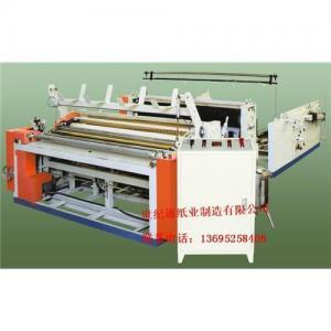 Cheap STJ-FJ half-Automatic toilet paper making machine wholesale