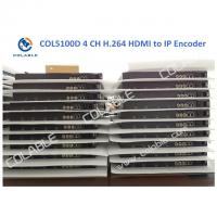 Cheap MPEG4 IPTV Video Encoder 4 Channel HDMI To IP Encoder For DTV System COL5100D wholesale