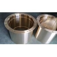Buy cheap ASE430B Oilless Self-lubricating Flange bronze Bushing with Graphite from wholesalers