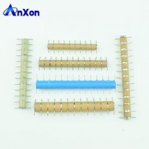 Cheap 10KV 15KV 20KV 25KV 30KV High voltage copper pillar ceramic capacitor stacks wholesale