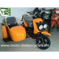 Cheap Chinese Factory Military 350cc Three Wheel Motorcycle With Sidecar Side Wheel Trike wholesale