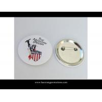 Cheap Promotional Personalized metal custom cheap tin button badge wholesale