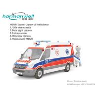 Quality 4ch D1/HD1/CIF HDD Mobile DVR for Ambulance GPS+3G+WIFI Optional for sale