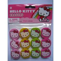 Cheap promotional custom full color printed animal shaped rubber eraser wholesale