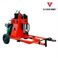 Buy cheap Twin Cylinder Portable Small Drilling Rig With Diesel Engine GY-50-1 from wholesalers