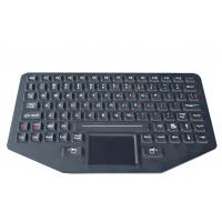 Cheap 89 key Silicone backlit  ruggedized keyboard with sealed touchpad , optional trackball wholesale