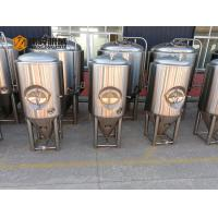 Buy cheap 1000L Side Manhole Conical Beer Fermenter 60 Degree Cone For Beer Brewing from wholesalers