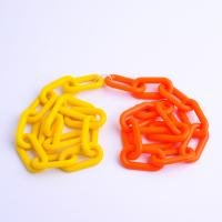 Cheap Light Weight Plastic Barrier Chain Heavy Duty Plastic Chain Eco Friendly wholesale