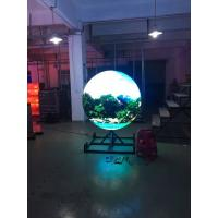 Cheap SMD P4 Indoor Full Color Sphere Led Display Curved Led Panel Ball Shaped wholesale
