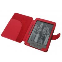 Cheap Book Style Red e-Reader Amazon Kindle Protective Case For Kindle 4 / 5 Fit Perfect wholesale