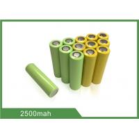 Cheap 3.7V 2500mAh 18650 Rechargeable Lithium-ion cell For Storage Power Application wholesale