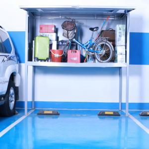 Cheap Powder Coated Steel Over Bonnet Storage Locker For Apartment Buildings wholesale