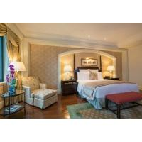 Buy cheap COC Luxury Hotel Bedroom Furniture With Dining Table Environmental Friendly from wholesalers
