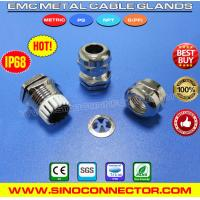 Cheap EMV / EMI / EMC Cable Glands (Liquid Tight Cord Grips) Brass IP68 Rating wholesale