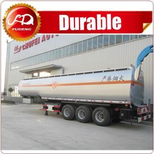Cheap Cheap pricre petrol 3 axle oil Fuel tank trailer , 50000 liters Oil Fuel Tanker Semi Trailer for sale wholesale