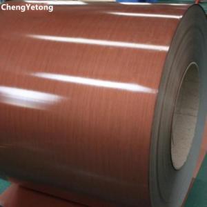 Cheap PVC Film Laminated Steel Sheet , Furniture Decoration Pre Painted Sheet Metal wholesale