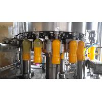 Cheap Super Automatic Bottle Filling Machine , Blowing Filiing Capping Machine For Juice wholesale