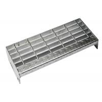 Cheap Medium Duty Steel Stair Treads Grating ISO Certificated Aesthetic Appearance wholesale