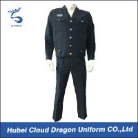 Cheap Custom Navy Tactical Security Guard Uniform suits for sale