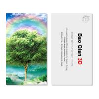Cheap Customized Logo 3D Lenticular Card / Shaped Stand Holographic Business Cards wholesale