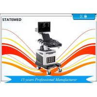 Cheap 19 Inch LED Trolley Ultrasound Scanner Color Doppler Ultrasound Machine Four Probe Interface wholesale